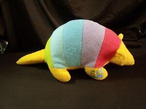 PPG-paints-advertising-plush-retro-vintage-armadillo-rainbow-1980-039-s-mascot-promo