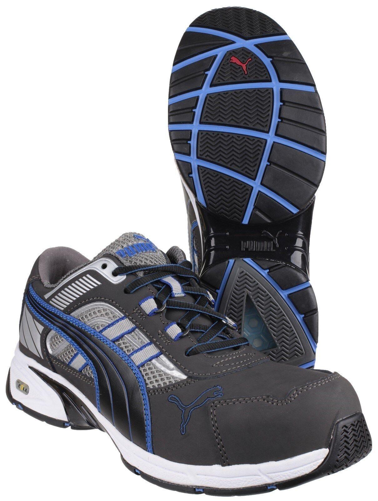 Puma ritmo Azul Entrenadores De Seguridad Industrial trabajo Puntera Composite Zapatos de trabajo Industrial para hombre 495282