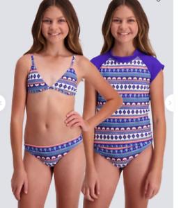 BNWT BILLABONG GIRLS KIDS ISLAND TIME BIKINI SET SIZE 10 RRP $50 BARGAIN