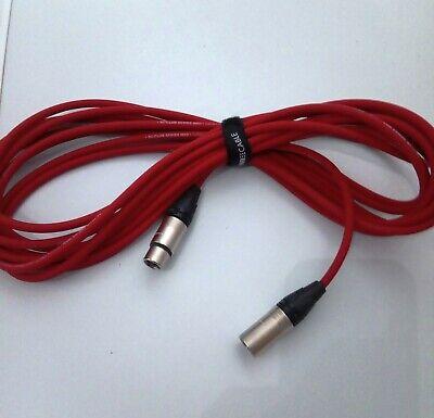 blau SC Club Series MK II Neutrik-XLR 2 Stück Profi-Audiokabel XLR 5 m rot