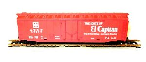 HO-Scale-Boxcar-Santa-Fe-The-Route-of-El-Capitan-ATSF-49277