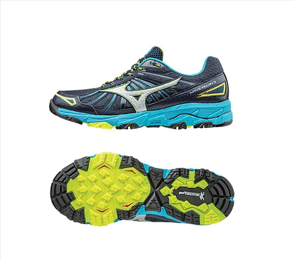 MIZUNO WAVE MUJIN 3 Hombre Trail Running Zapatos 100% Auténtico J1GC167005 un