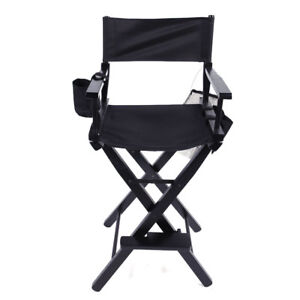 Image Is Loading New Directors Chair 30 Inch Canvas Tall Seat