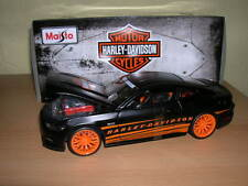 Maisto 2015 Ford Mustang GT Harley-Davidson Design, 1:24 Custom Car Art 32188