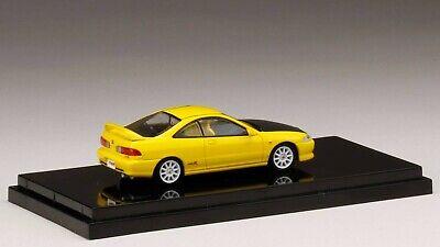 Honda Integra Type-R DC2 RHD 1998 yellow 1//64 Hobby Japan