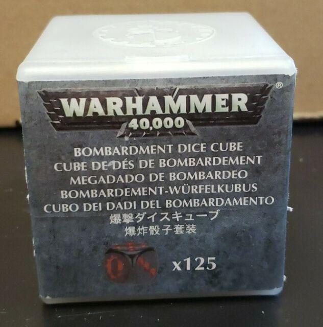 Adeptus Mechanicus Limited Edition Bombardment Dice Cube OOP  Warhammer 40K