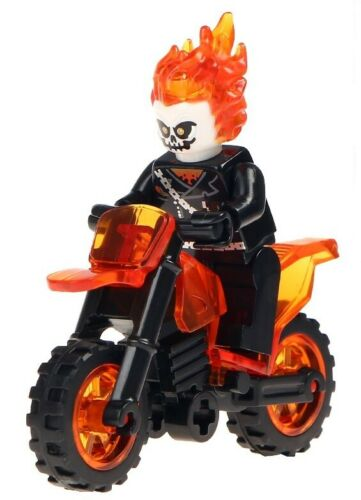 Marvel Avengers Ghost Rider Toys Children Figurines Gift Statuette Super Heroes