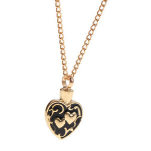 Love-Heart-Carving-Memorial-Pendant-Necklace-Keepsake-Urn-Cremation-Jewelry