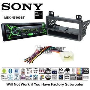 sony car stereo radio bluetooth cd player dash install mount kit sony car stereo radio bluetooth cd player dash