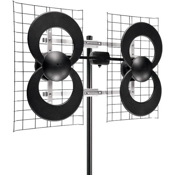 NEW ANTENNAS DIRECT C4-CJM ClearStream 4 UHF Outdoor Antenna with Mount