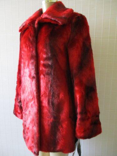 Pamela Langærmet Coat Xl Mix Faux Red Størrelse Fur Mccoy Nwt r8xnqUCwr