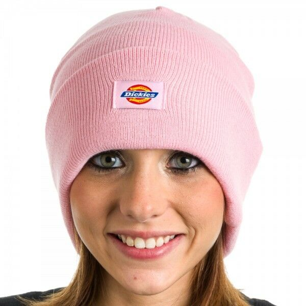 e389a80f3 Dickies Core 9 Inch Cuffed Double Knit Cap Beanie Hat Pick Color Pink for  sale online