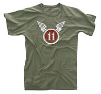 Rothco 66630 Brand New Olive Drab Vintage 11th Airborne Military T-Shirt