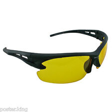 Yellow Lens Professional Night Driving Low Light Foggy Cycling Sports HD Glasses