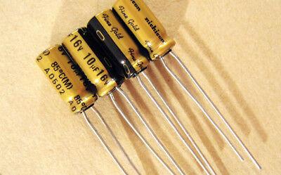 20pcs 50V10uf 50V Nichicon FG Muse capacitor 5x11mm FineGold for Audio