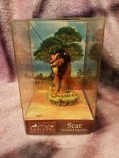CVS Enesco Disney The Lion King Scar Sculpted Figurine MIB