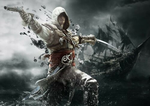 ASSASSIN/'S CREED GAME WALL ART POSTER A1 - A5 SIZES AVAILABLE