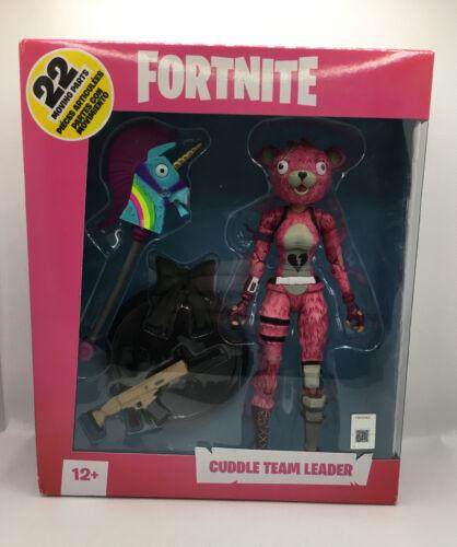 "Fortnite Cuddle Team Leader Mcfarlane Toys Action Figure 7/"" Premium híbrido Uk"