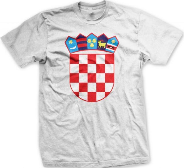 Croatia Flag Soccer Football Nogomet Croatian Hrvatska Pride Mens V-neck T-shirt