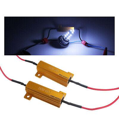 LED Wiederstand 25 Watt 12 Ohm Widerstand 12V Can-Bus für Tagfahrlicht Standlich