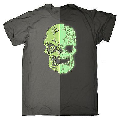 Wanna See My Grim Side T-SHIRT Horror Dead Zombie Evil Tee birthday fashion gift
