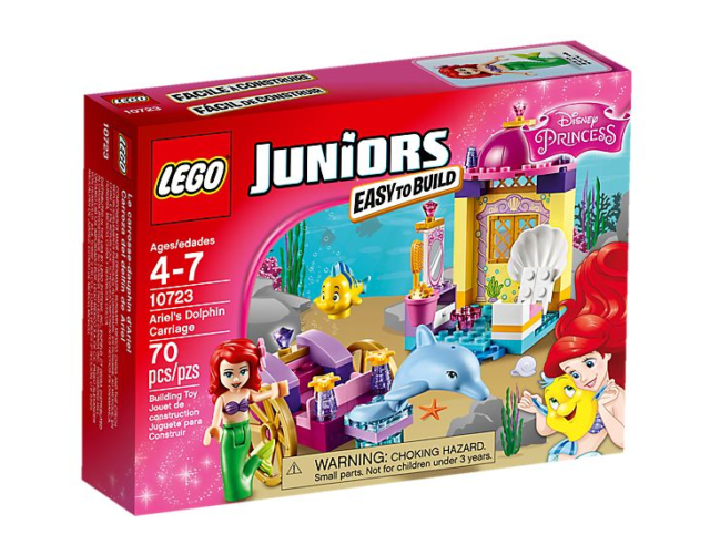 Lego Junior - Disney Princess - Ariel's Dolphin Carriage - NEW - 10723 - AU