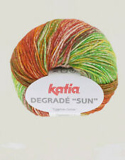 50g DEGRADÉ SUN KATIA 100/% Baumwolle DEGRADE FARBVERLAUF Gradient Cotton Fb.202