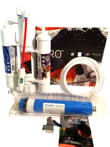 Aquarium UMKEHROSMOSE Mobiler WASSERFILTER Osmose Membrane 75 GPD 270 Liter//Tag