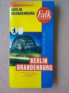 falk landkarte deutschland Falk Bundesländerkarte Nr. 5 Deutschland Berlin Brandenburg 1:300