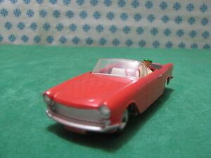 Vintage - Simca Oceane Cabriolet 1/43 Solido Ref. 110 Série 100