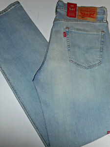 2dee30f535a NWT 541 Levi's ATHLETIC More Room Fit 30 x 34Taper Leg Stonewashed ...