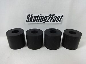 Set-of-4-NEW-Replacement-LASER-45-Single-Action-Cushions-Quads-Roller-Skates