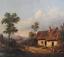 miniatuur 8 - Josef PFEIFFER Très Belle Huile Toile Paysage TYROL AUTRICHE 1862