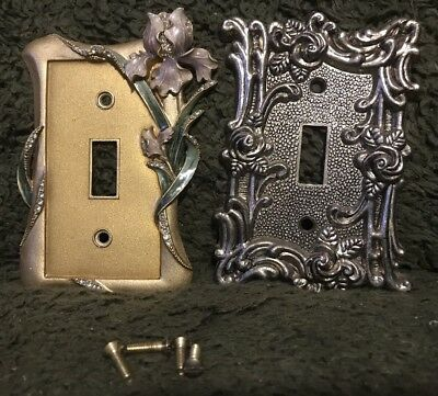 2 Beautiful Light Switch Covers Plates With S Very