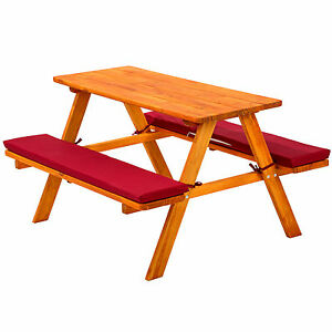 tables chairs see more kids picnic table bench set childrens wood