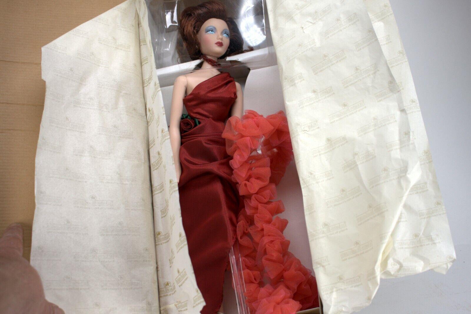 BEAUTIFUL ASHTON DRAKE GENE rojo VENUS DOLL BOX SIGNED BY MEL ODOM