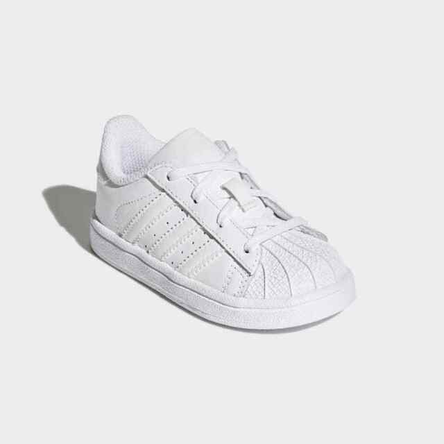 free shipping dc389 39602 Adidas Originals Superstar Scarpe Ginnastica Bambini Unisex BB7080 - Bianco