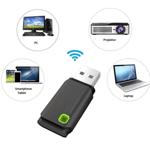 Mini USB 300MBPS Wifi Wireless Adapter PC Laptop Dongle Windows 10//8//7 Vistas pn
