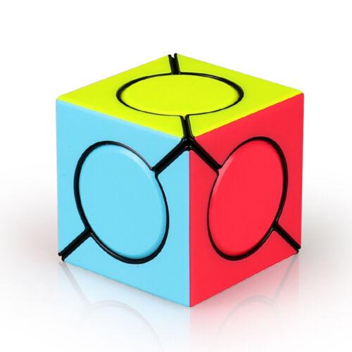 Magic Cube Square/&Round Speeds Smooth Stickerless Twist Puzzle Kids Toy Game New