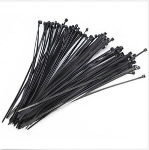 3x150mm Nylon Cable 30/200/1000pcs  Zip Ties Wrap Fasten Wire Self-Locking Cable