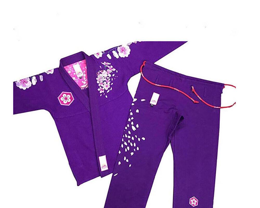 Ladies Brazilian Jiu Jitsu Suit, Female BJJ Gi Kimonos Women BJJ Uniform