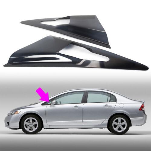 Ship Today!For Honda Civic 8th 4D Window Visor Louver Cover Trim 06-11 DX EX GX