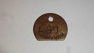Brass-Miners-Lamp-Pay-Check-Pit-Tally-Token-NCB-Markham-Colliery-L89