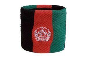 Schweisband-Drapeau-Drapeau-Afghanistan-7x8cm-bracelet-de-sport