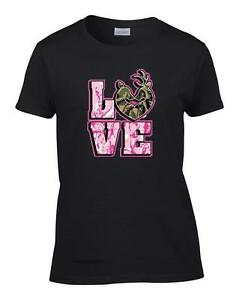 Ladies-Love-Camo-Deer-Couple-Hunting-Women-039-s-T-Shirt