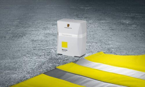 Porsche Safety Vest Reflective Warning Vest Porsche Car Care Tequipment OEM
