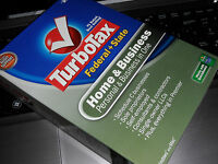 2008 Turbotax Home&business Federal + State Turbo Tax Cd In Sealed Box