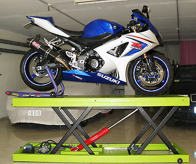 Hydraulic Motorcycle Lift Table - Plans