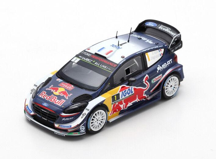 Ford Fiesta WRC N°1 Ogier 1er Tour de Corse 2018 1 43 Spark