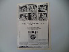 advertising Pubblicità 1966 LAVARICE NAONIS G 455 DELUXE
